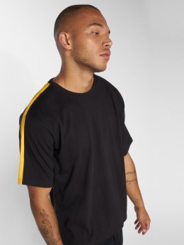 DEF Bres T-Shirt Black/Yellow