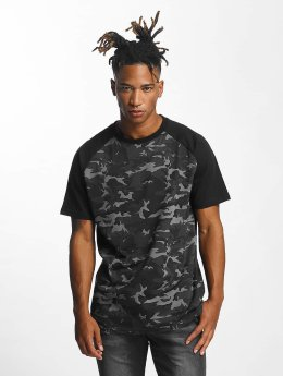 DEF T-Shirt Mountain grau