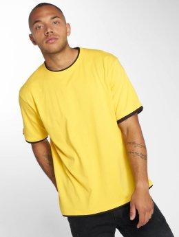 DEF T-Shirt Basic jaune