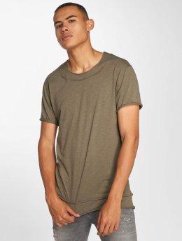 DEF t-shirt Bica olijfgroen