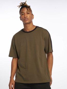DEF t-shirt Jesse olijfgroen