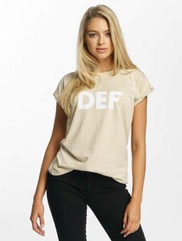 DEF T-skjorter Sizza beige