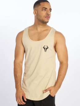 DEF Tank Tops  beUNIQUE Tank Top Beige...