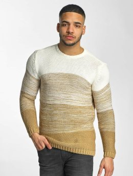 DEF trui Striped beige