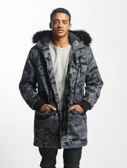 DEF winterjas Bomber camouflage
