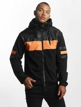 DEF Zip Hoodie Cool black