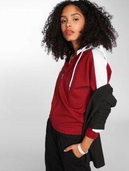 DEF Frauen Zip Hoodie Dianka in rot