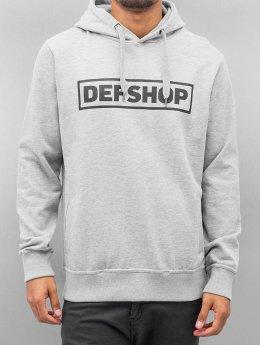 DefShop Sudadera Logo gris