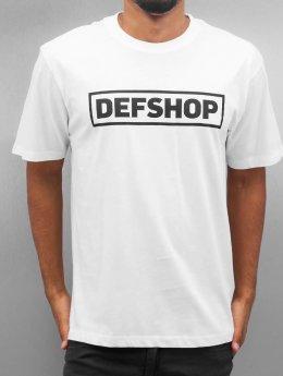 DefShop T-shirts Logo hvid