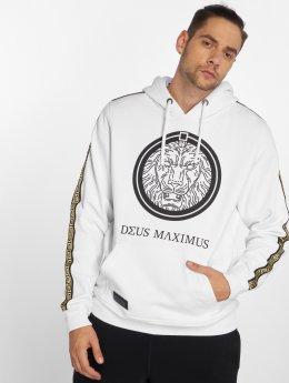 Deus Maximus Bluzy z kapturem Nemeos bialy