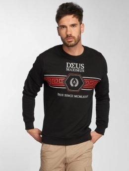 Deus Maximus Pullover Virtus schwarz
