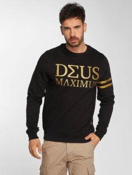 Deus Maximus Sweat & Pull Nerio noir