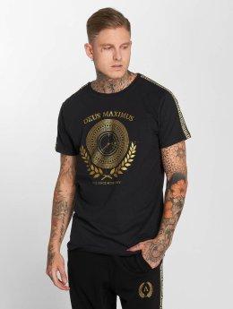Deus Maximus T-shirt Odysseus svart