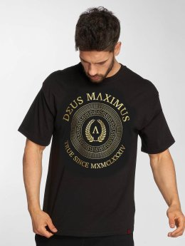 Deus Maximus t-shirt Honor zwart