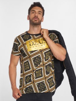 Deus Maximus T-Shirty Gianni czarny