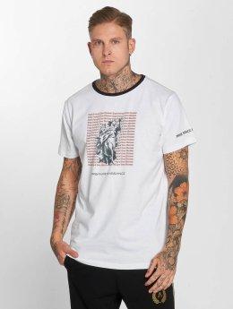 Deus Maximus T-skjorter Pax hvit