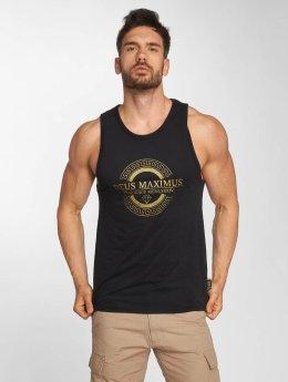 Deus Maximus Tank Tops Honor black