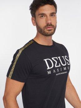 Deus Maximus Tričká NEMEAEUS èierna