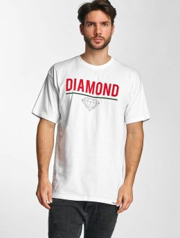 Diamond T-Shirt Strike blanc
