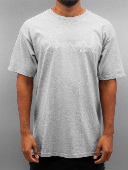 Diamond T-Shirt Tonal OG Script gray