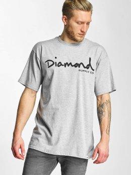 Diamond T-Shirt OG Script gray
