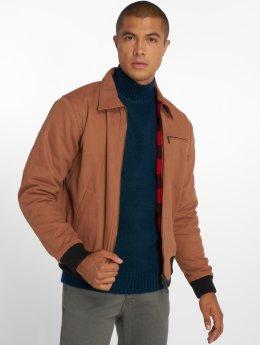 Dickies Демисезонная куртка Upperglade коричневый