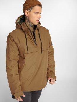 Dickies Демисезонная куртка Belspring Pullover коричневый