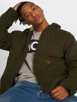 Dickies Демисезонная куртка Farnham оливковый