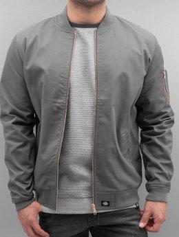 Dickies Куртка-бомбардир Hughson серый
