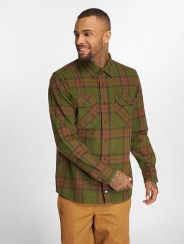 Dickies Рубашка Brownsburg зеленый