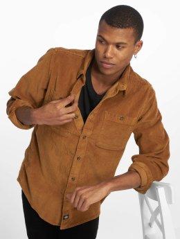 Dickies Рубашка Arthurdale коричневый