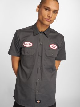 Dickies Camicia Rotonda South grigio