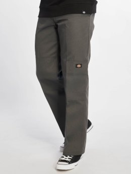 Dickies Cargo Nohavice Double Knee Work šedá