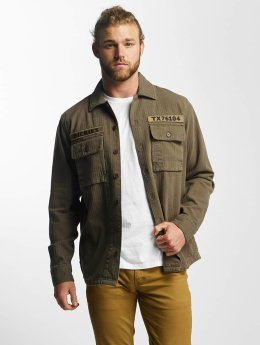 Dickies Chemise Bridgeport olive