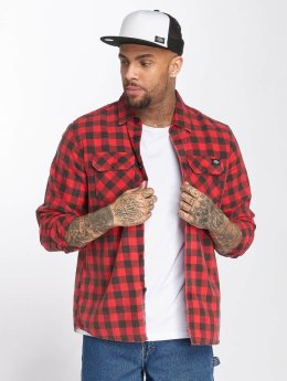 Dickies Chemise Rock Hall rouge