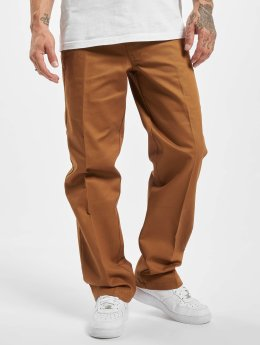 Dickies Cotton 873 Pants Brown Duck