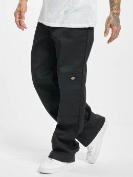 Dickies Chinot/Kangashousut Double Knee Work musta