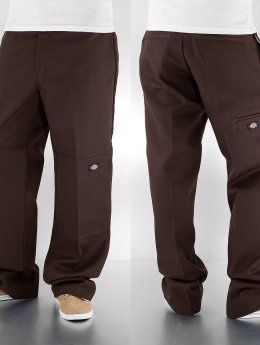 Dickies Chinot/Kangashousut Double Knee Work ruskea