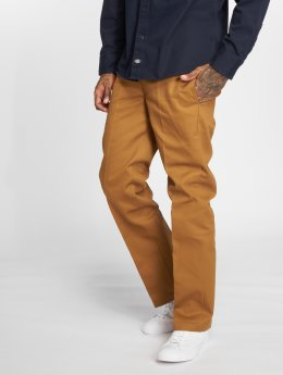 Dickies Chinot/Kangashousut WP873 Slim Straight Work ruskea