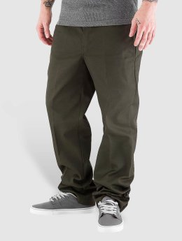 Dickies Chinot/Kangashousut Slim Straight Work vihreä