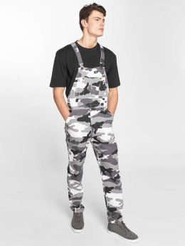 Dickies Purdon Bib Overall White Camouflage