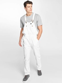 Dickies Dungaree Purdon Bib white