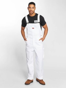 Dickies Painters Bib Overall White