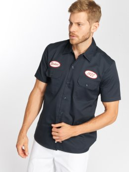 Dickies Hemd Rotonda South blau