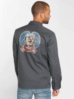 Dickies Mentone Shirt Charcoal Grey