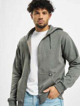 Dickies Hoodies con zip Kingsley grigio