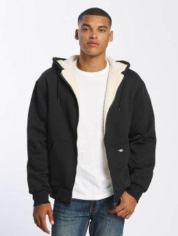 Dickies Hoodies con zip Sherpa Fleece nero