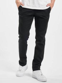 Dickies Látkové kalhoty Slim Fit Work  čern