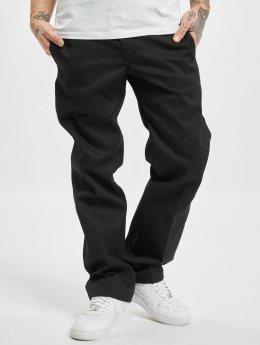 Dickies Látkové kalhoty Slim Straight Work čern