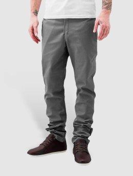 Dickies Látkové kalhoty Slim Skinny Work šedá